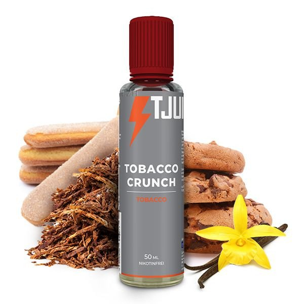 T-Juice Tobacco Crunch Liquid 50 ml