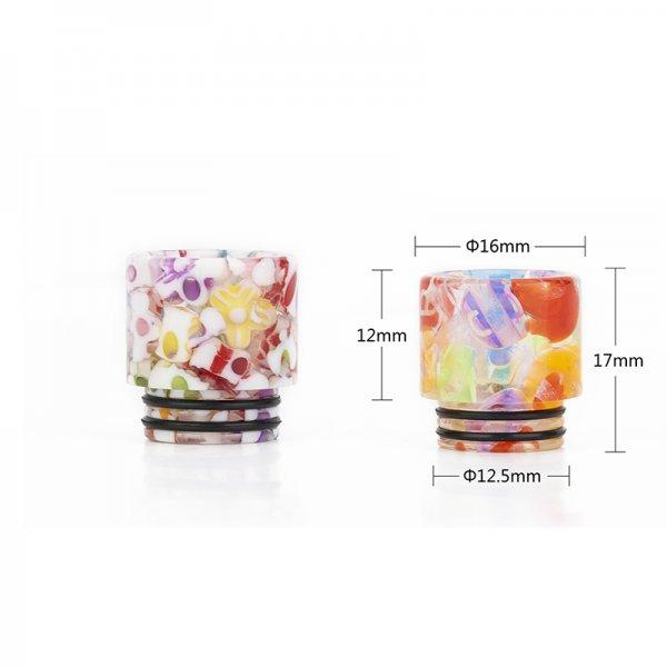 Resin Drip Tip 810 mit Farbverlauf
