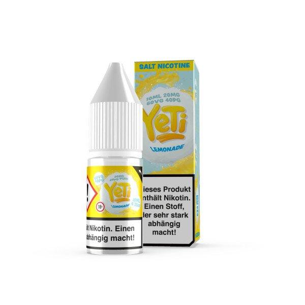 Yeti Nikotinsalz Lemonade Liquid