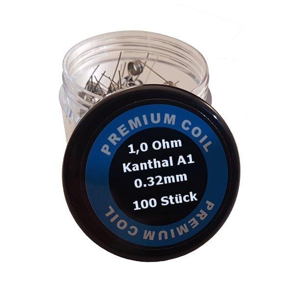 100 Stück 0,32mm Premium Kanthaldraht A1 Wicklungen