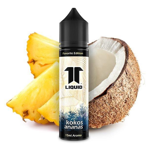Elf Liquids Favorite Edition Kokos Ananas Aroma