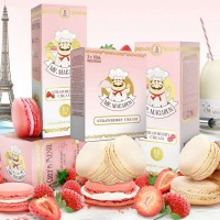 Mr. Macaron Strawberry Cream E-Liquid