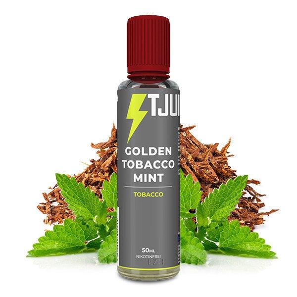 T-Juice Golden Tobacco Mint Liquid 50 ml
