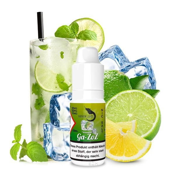 Hayvan Juice Ga-zoz Nikotinsalz Liquid