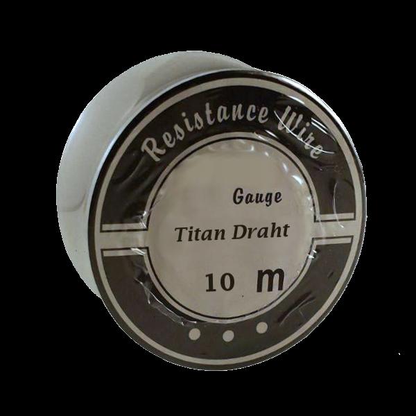 10 Meter 0,40mm Titan Draht