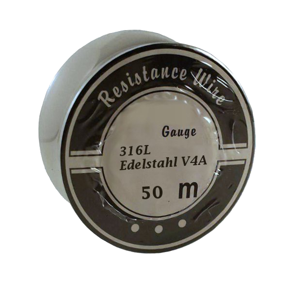50 Meter 0,20mm Edelstahl V4A Draht