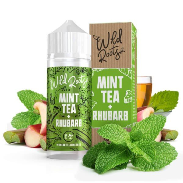 Wild Roots Wild Tea with Rhubarb