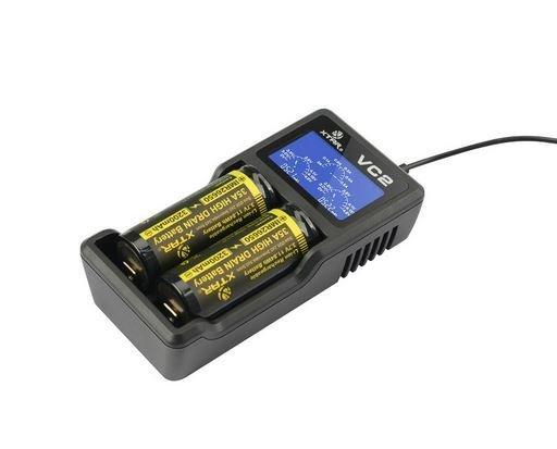 Xtar VC2 Li-Ionen Ladegerät