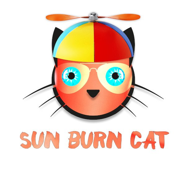 Copy Cat Sun Burn Cat